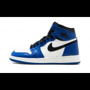 Air Jordan 1 Retro OG Game Royal Blue Womens GS Shoes 575441-403