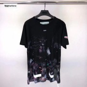 OFF WHITE Galaxy Brushed Tee