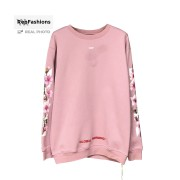 Off White Cherry Blossom Sweatshirt Crewneck