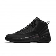 "AIR JORDAN 12 ""WINTERIZED"" TRIPLE BLACK 2018 PRICE RELEASE DATE BQ6851-001"