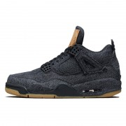 "Levi's x Air Jordan 4 ""Black Denim"" AO2571-001"