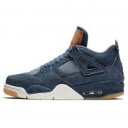 "Levi's x Air Jordan 4 ""Blue Denim"" AO2571-401"