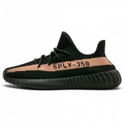 "ADIDAS ORIGINALS YEEZY BOOST 350 V2 ""COPPER"" BLACK BY1605"